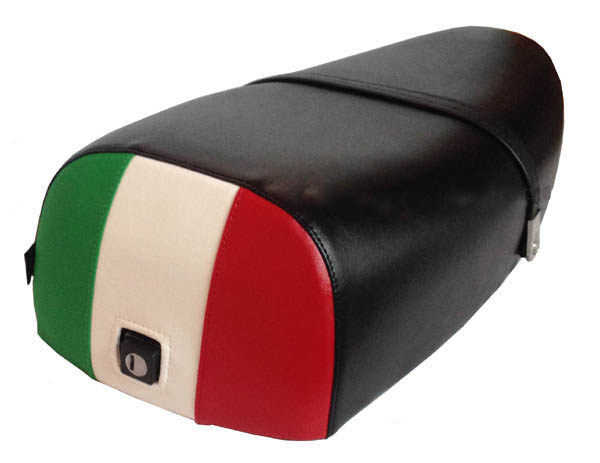 Italian Flag Rear Genuine Stella Scooter Seat Cover Waterproof
