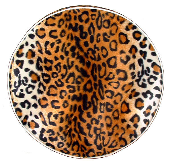 Gold Leopard 10 in wheel Scooter Spare Tire Covers Vespa Stella