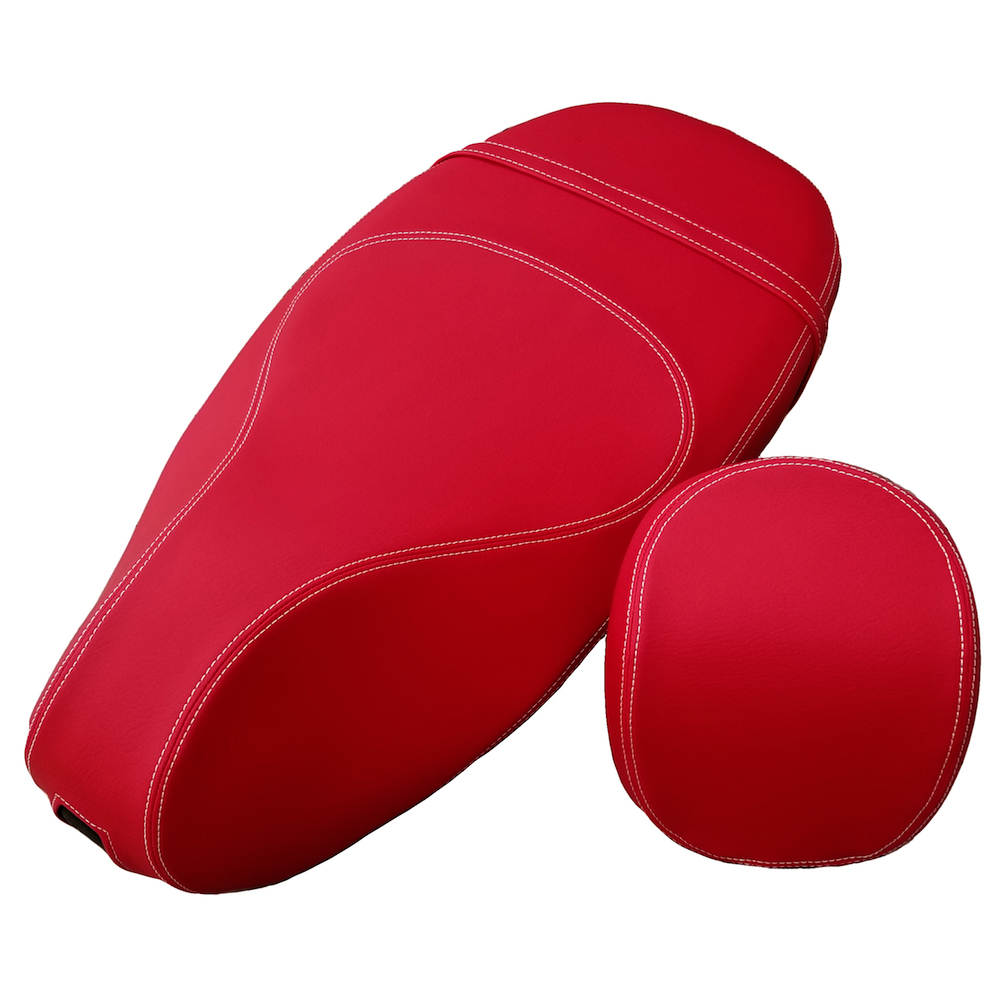 Red Hot Matte Red Vespa Sprint Primavera 50 125 150 SEAT COVER