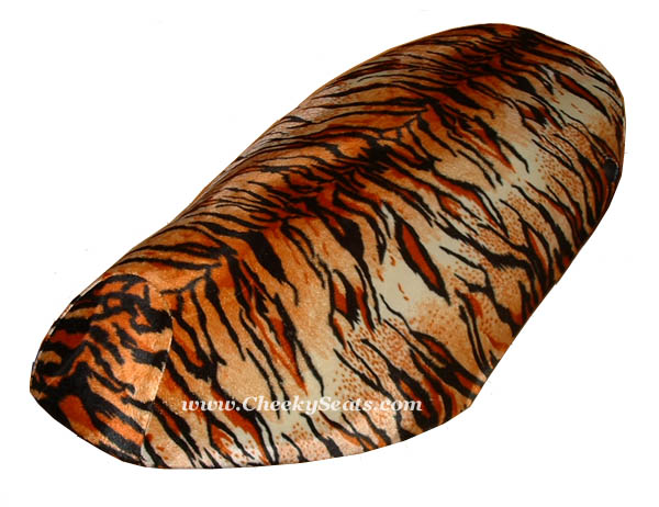 piaggio fly 2005 -2017 seat cover choose your favorite faux fur