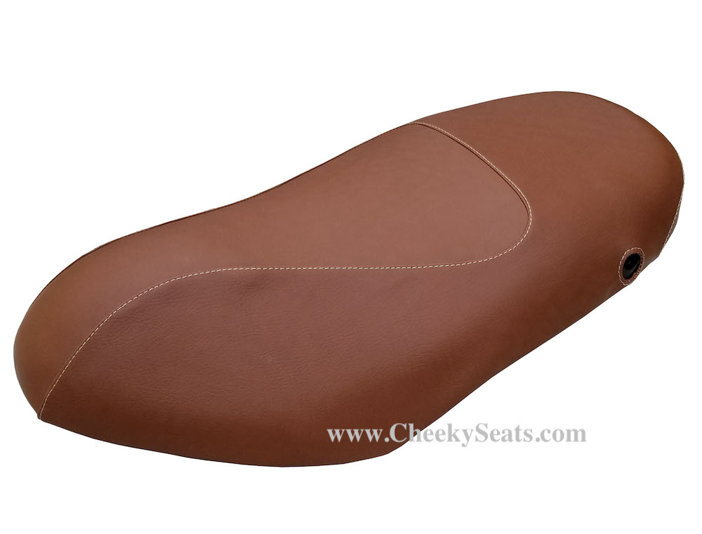 Piaggio Fly Scooter Matte Brown Scooter Seat Cover 2005 - 2018