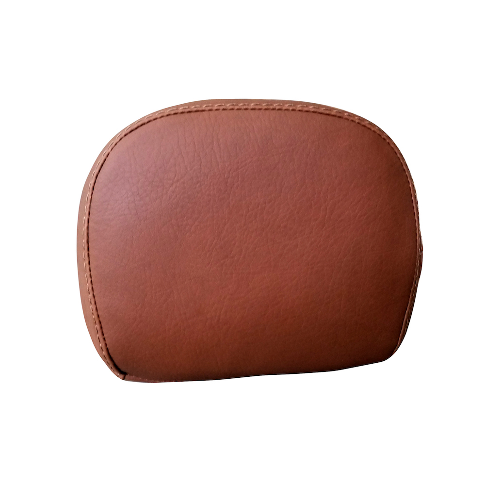 Vespa Prima Backrest Cover Cinnamon Brown Back rest Pad Cover