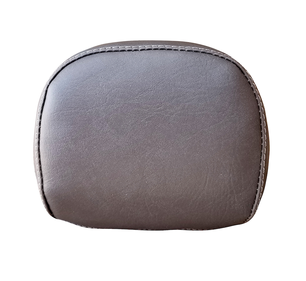 Vespa Prima Backrest Cover Gray Grey Back rest Pad Cover