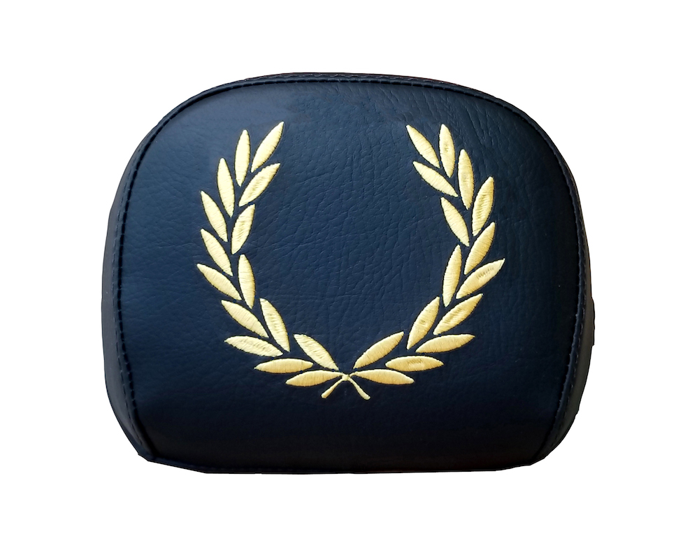 Prima Backrest Pad Cover Laurel Wreath Mod Vespa Backrest Cover