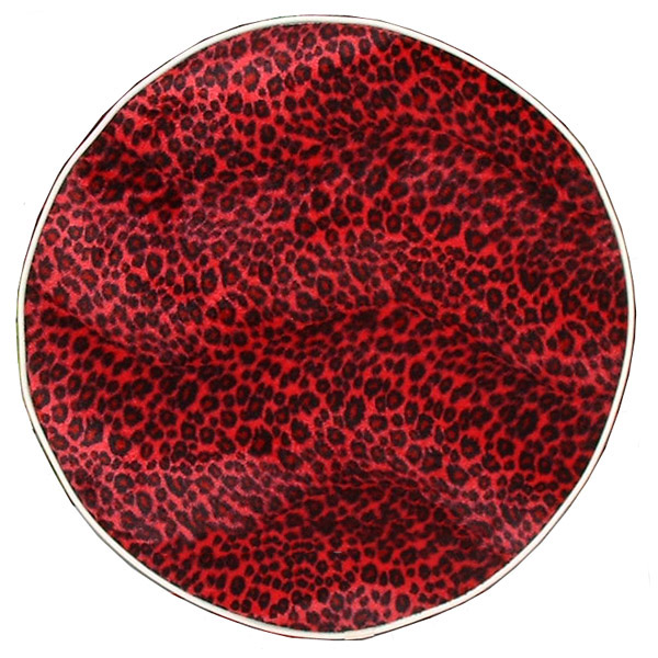 Red Cheetah Vespa Stella Scooter Spare Tire Cover 10 in wheel