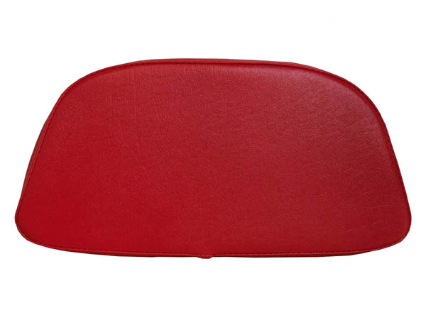 Vespa LX Scooter Top Case Back rest, Red Racing Stripe