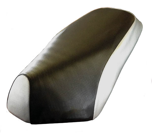 Genuine Roughhouse Rattler Scooter Seat Cover Carbon Fiber