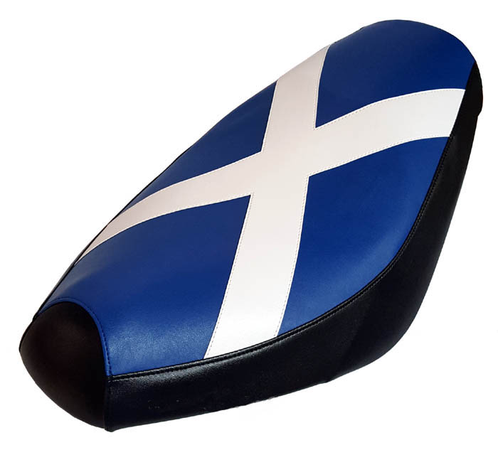 Scottish Flag Seat Cover Genuine Buddy Scooter Scotland