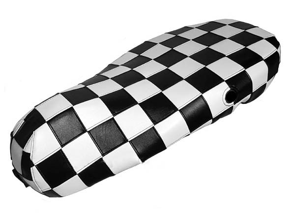 Vespa Sprint Primavera 50 125 150 Checkers Seat Cover Ska Checks
