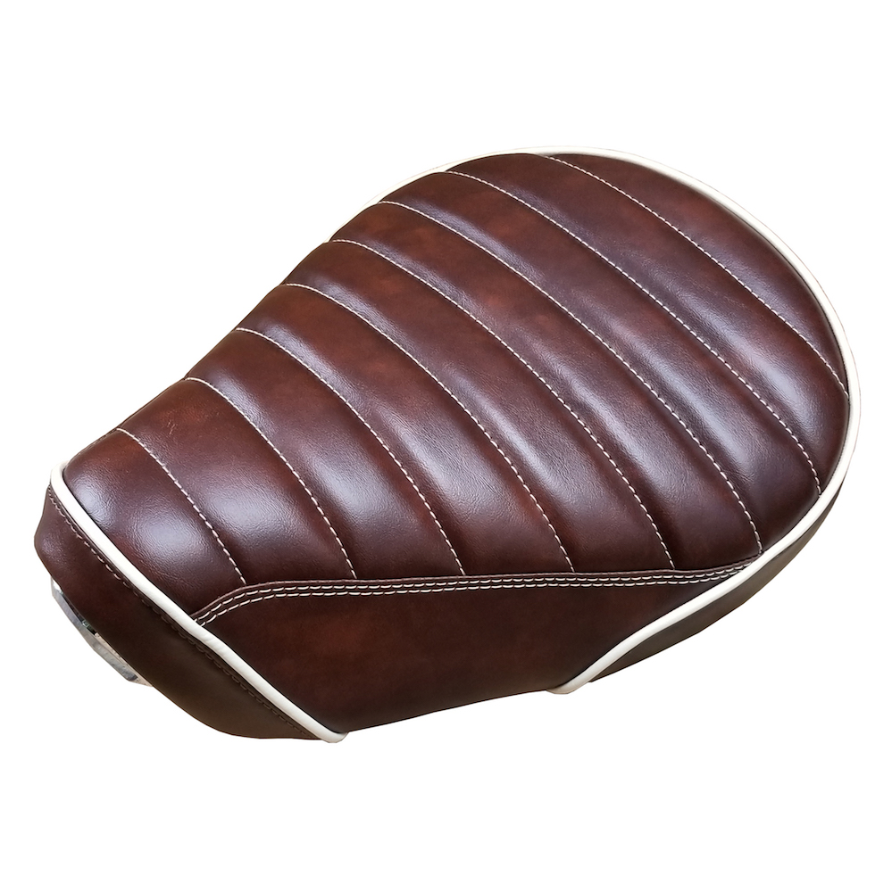 Honda Super Cub C125 Seat Cover Whiskey Brown Padded SuperCub