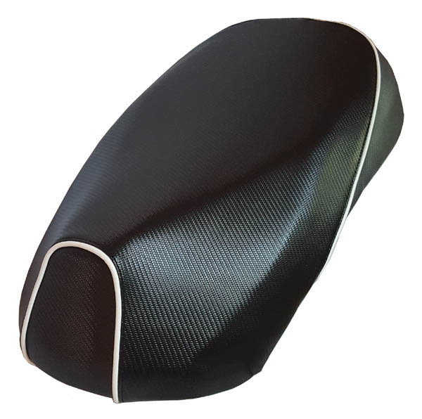 Sym Mio 50/100 Scooter Seat Cover, Carbon Fiber Waterproof