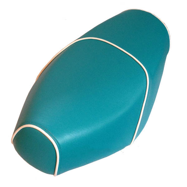 Turquoise Blue Genuine Buddy Scooter Seat Cover Waterproof