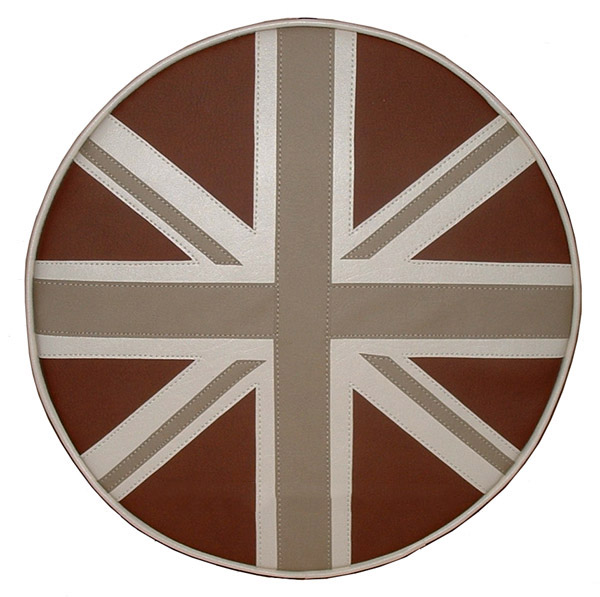 Earthtone Union Jack Scooter Spare Tire Cover Vespa Bajaj