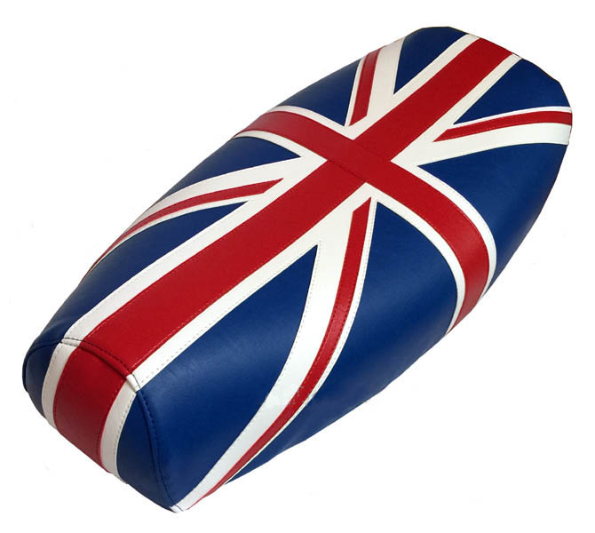 Union Jack Brit Flag Vespa Stella Bajaj Scooter Spare Tire Cover