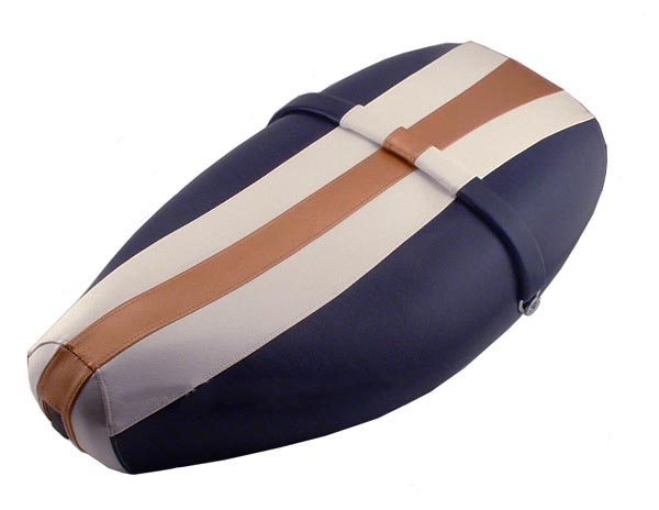Copper Rally Stripe Vespa ET 2/ 4 Scooter Seat Cover