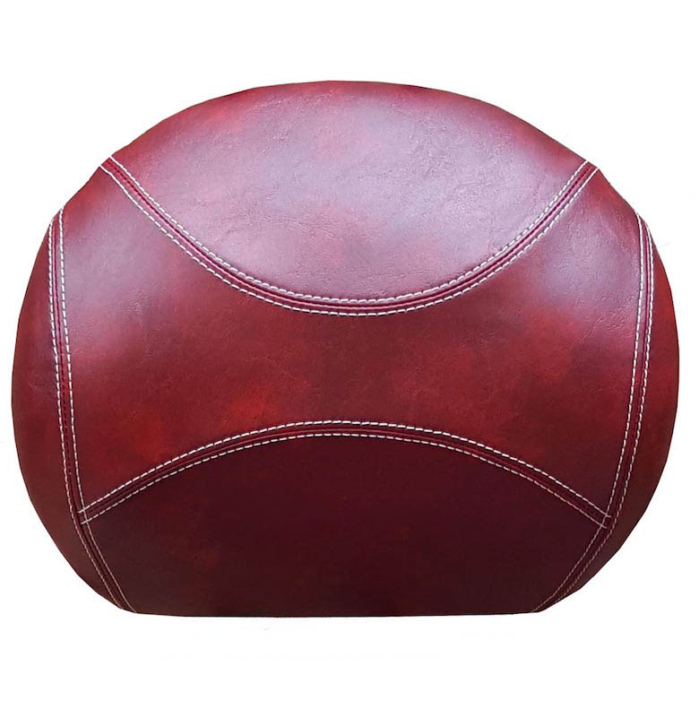 Vespa GT GTV Backrest Cover Oxblood GT Top Case Pad Cover