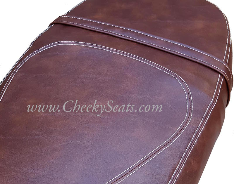 Vespa GT 125 200 Whiskey French Seams Extreme Seat Cover