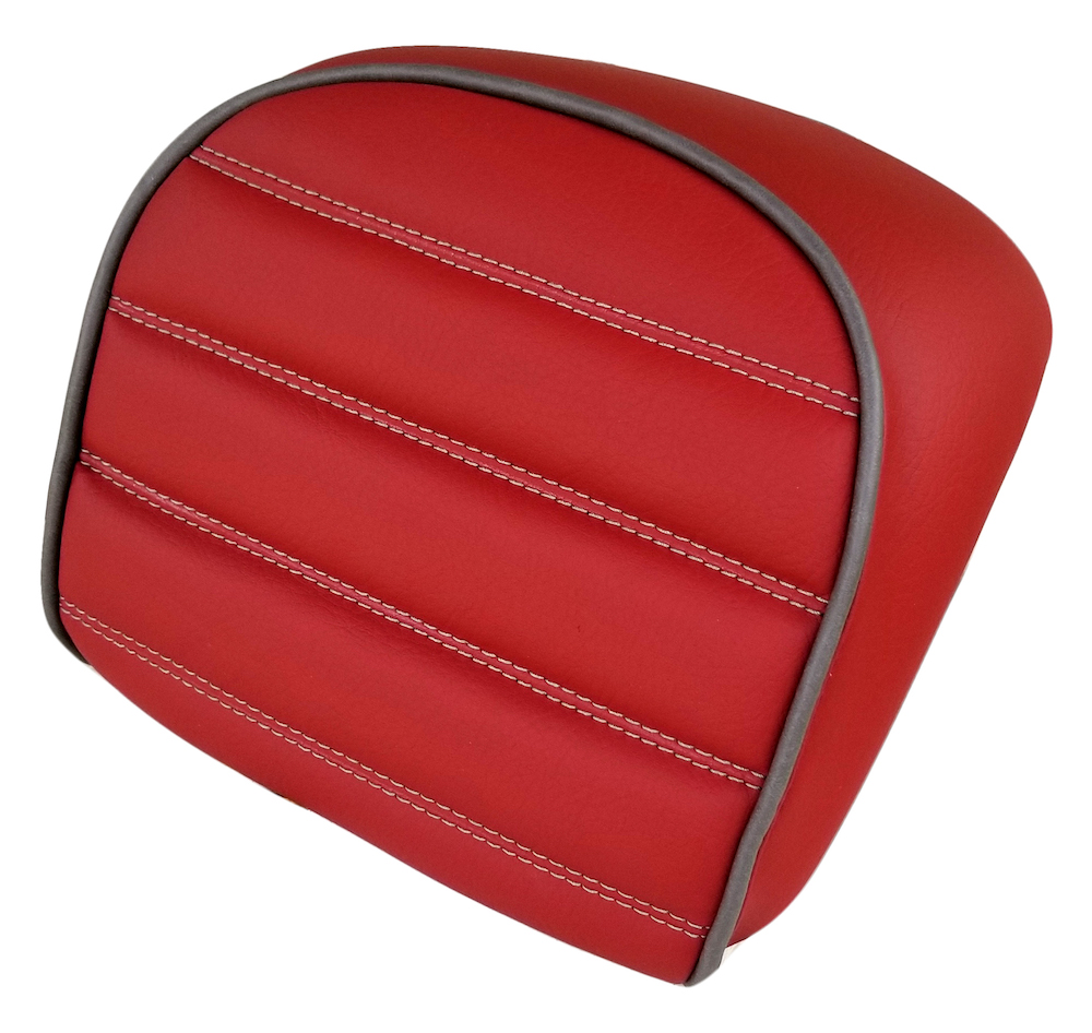 Vespa GT Topcase Backrest Cover Matte Brick/Terra Cotta 2015-19