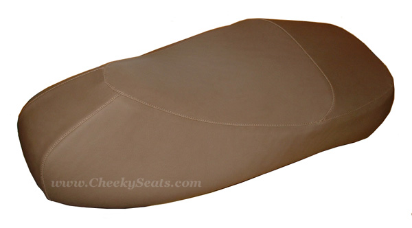 Premium Cafe Faux Leather Scooter Seat Cover Vespa GTS 250 300