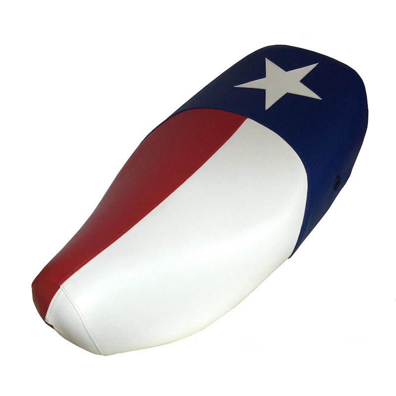 Vespa LX Texas Flag Scooter Seat Cover LX 50 125 150