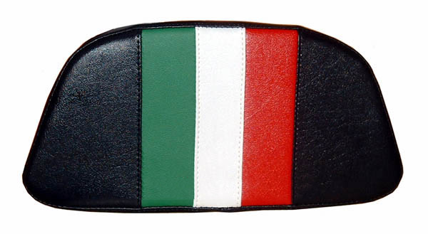 Vespa LX Scooter Top Case Back Rest Cover, Italian Racing Stripe