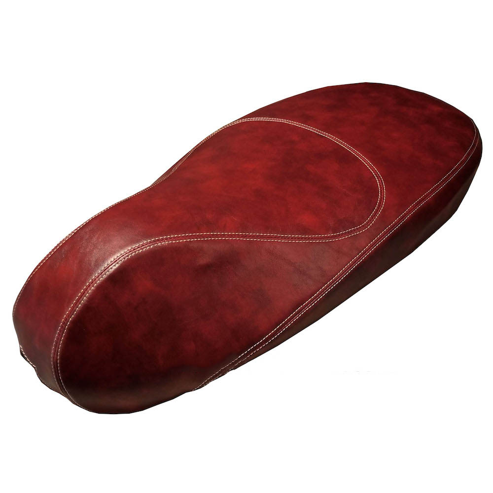 Vespa Sprint Primavera 50 125 150 Distressed Oxblood Seat Cover