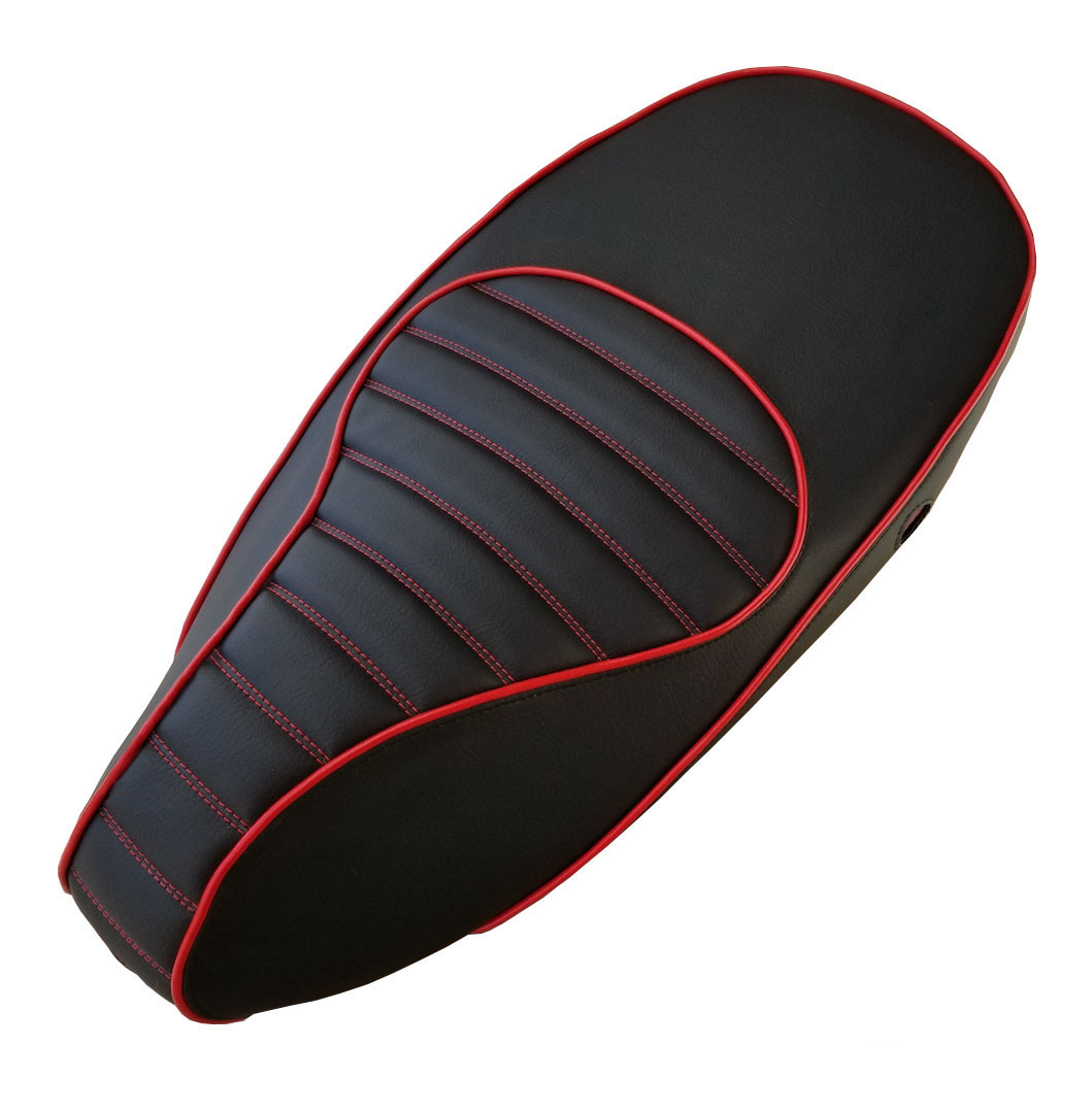 Vespa Sprint Primavera 50 125 150 Black padded saddle seat Cover
