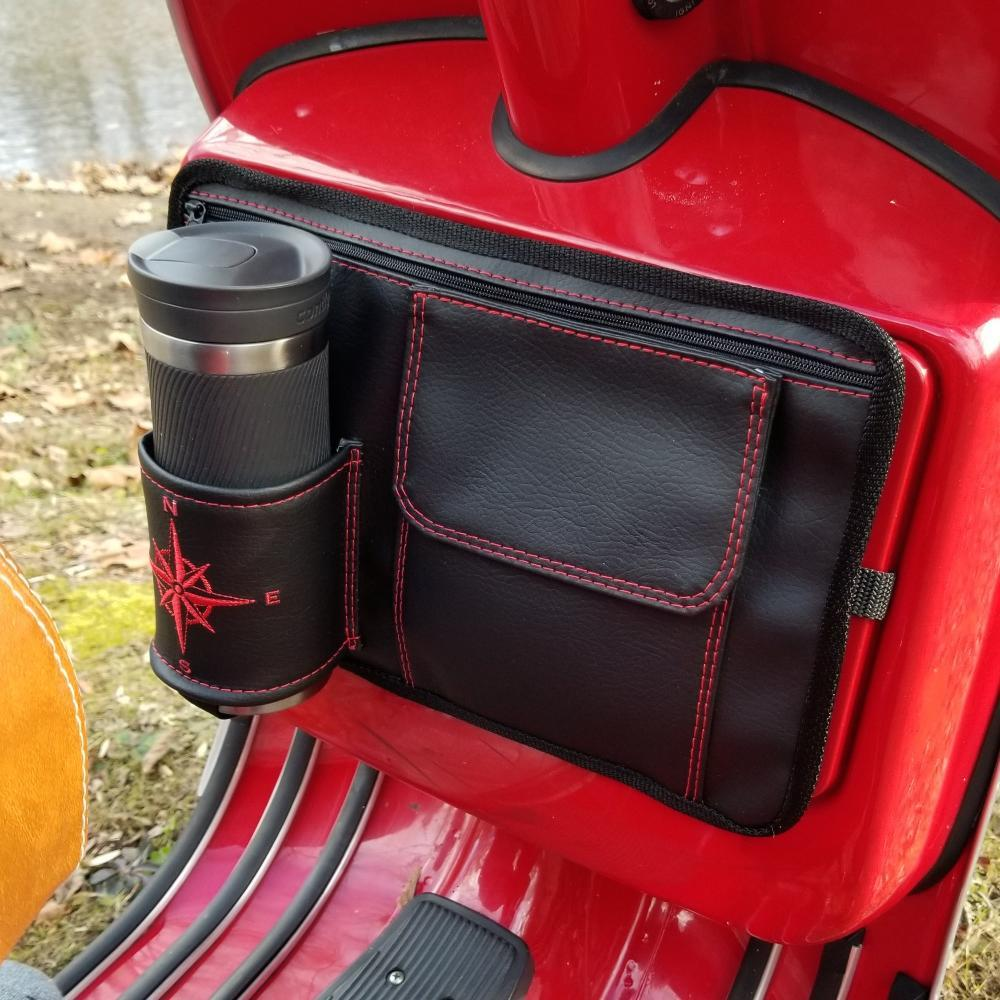 Flapjack Black Vespa Glove Box Bag Scooter Gifts Stella Kymco