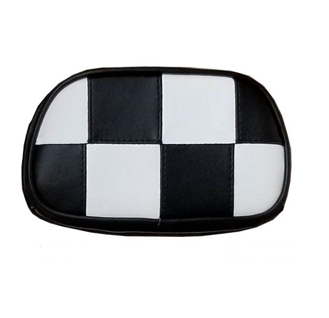 Vespa Lambretta Backrest Pad Cover Checkers Back rest
