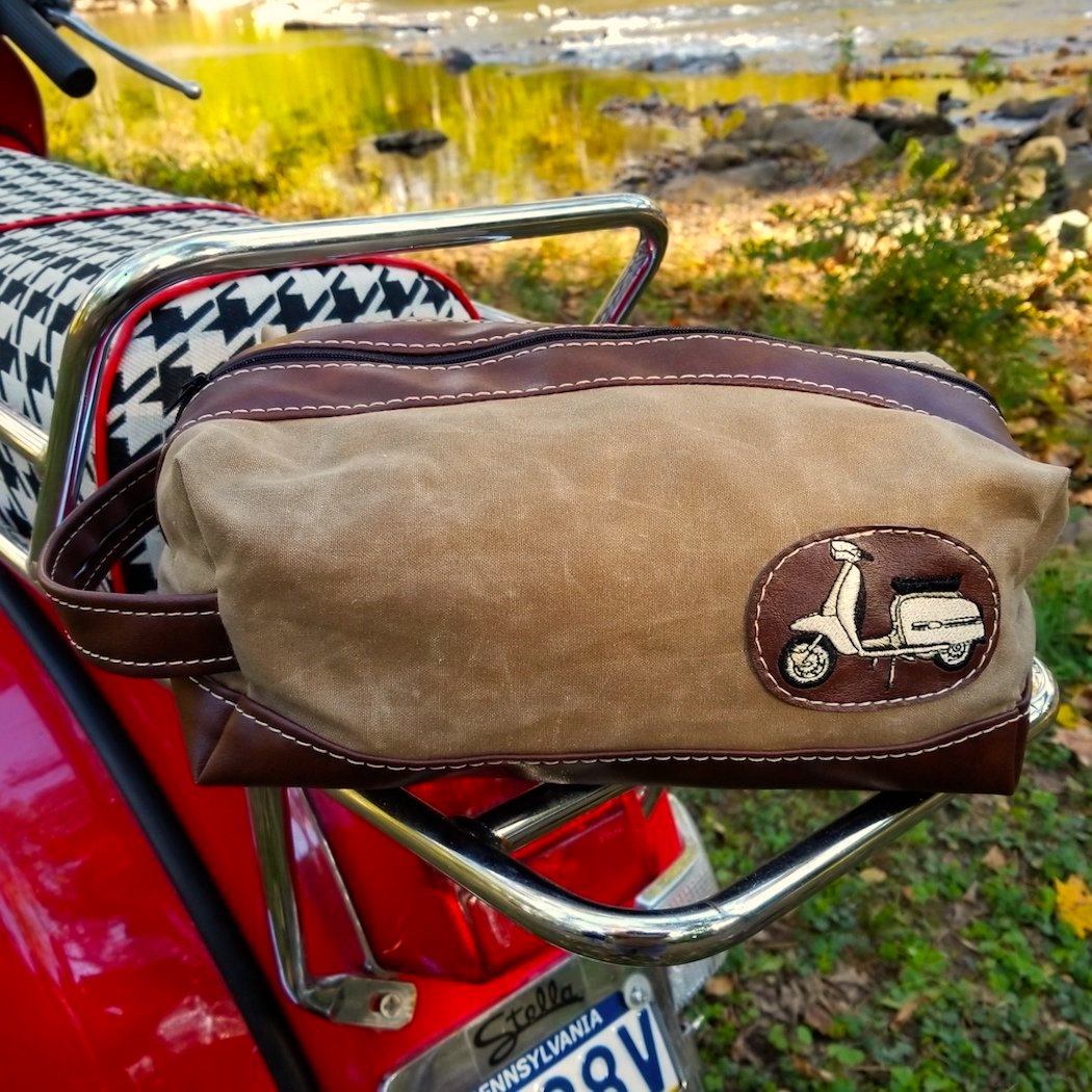 Weekender Rally Bag Vespa Lambretta Scooter Gifts Accessories