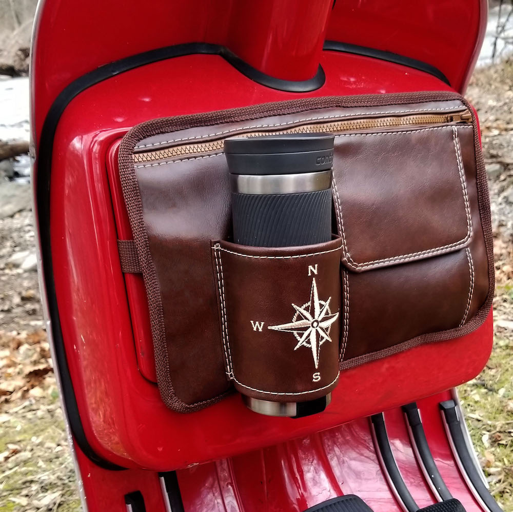 Flapjack Whiskey Scooter Glove Box Bag Vespa Gifts Stella Kymco