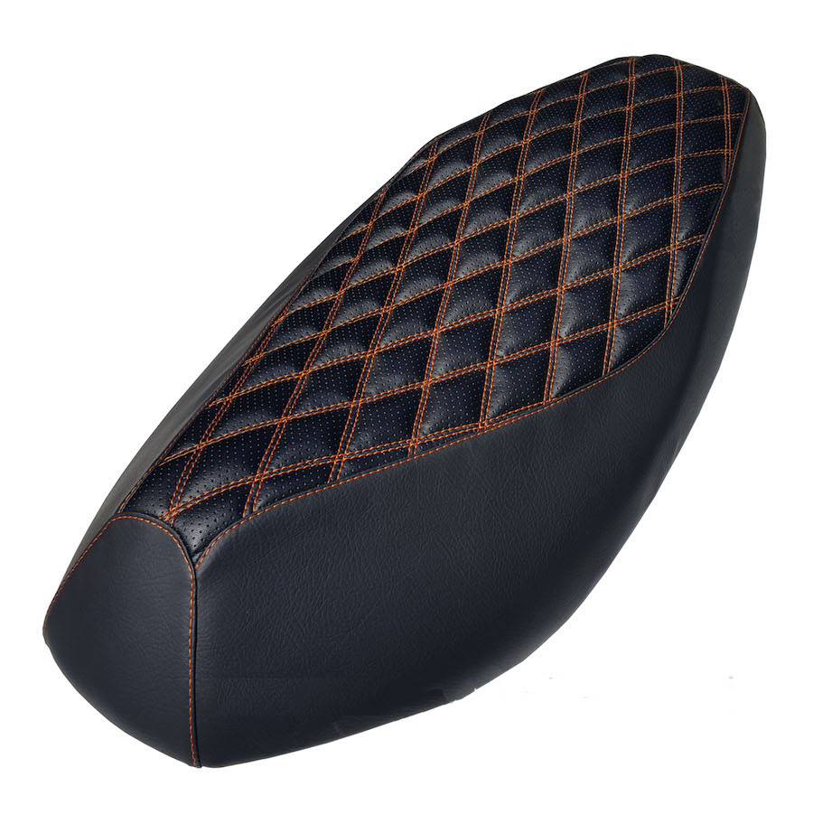 Double Diamond Stitch Yamaha Zuma 50 scooter seat cover