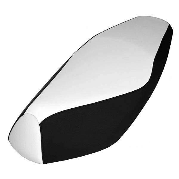 Black and White Yamaha Zuma 50 scooter seat cover waterproof