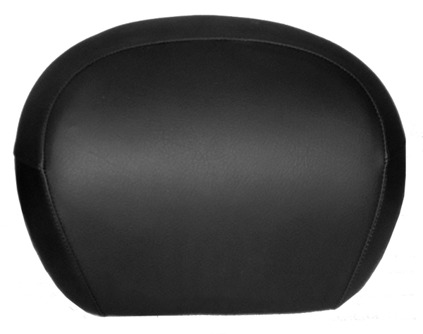 Vespa GT Scooter Top Case Back rest COVER,Classic Black