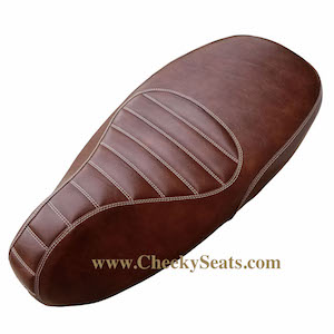 Padded Whiskey Vespa Sprint Primavera 50 125 150 SEAT COVER